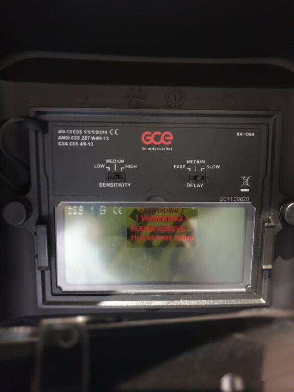 Masca de sudura automata GCE HORUS 9-13 - 19006000
