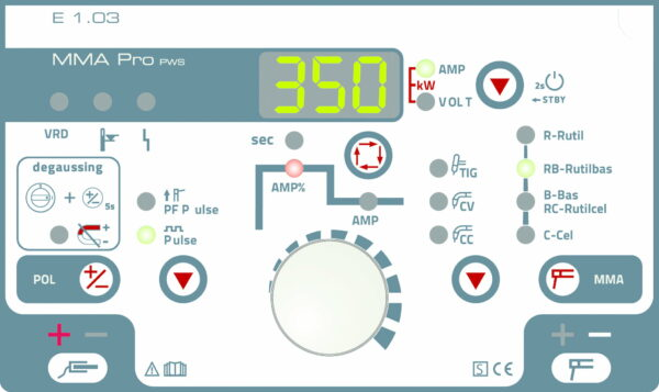 Invertor MMA EWM Pico 350 cel puls pws dgs - 090-002127-00502