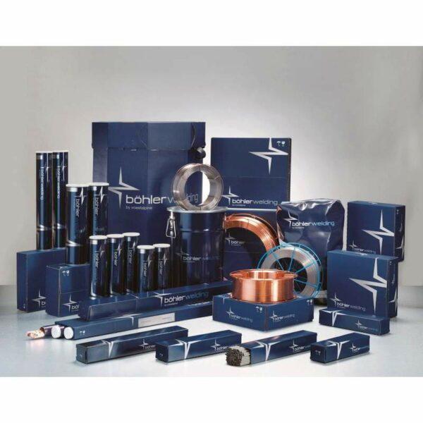 Sarma tubulara MIG/MAG otel-carbon cu autoprotectie BOHLER Diamondspark 31 NG -