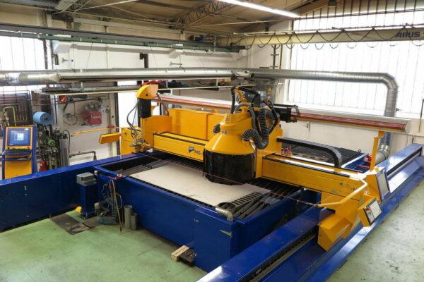 Masina debitare tabla CNC MicroStep-MG -