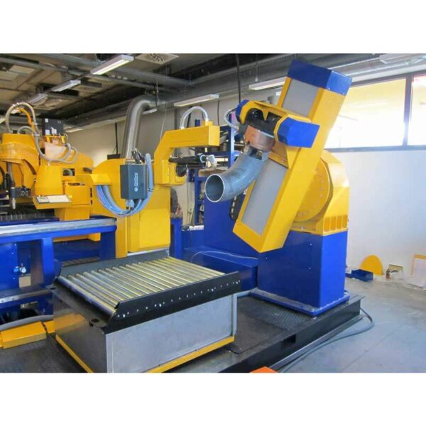 Masina debitare coturi CNC MicroStep-ElbowCut -