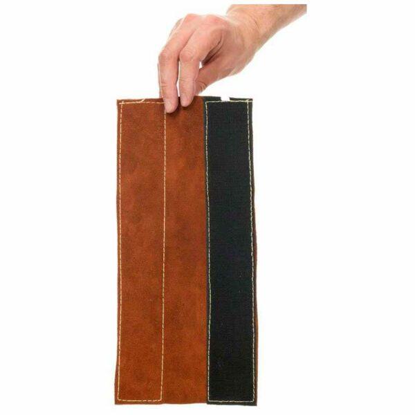 Jambiere piele Lava Brown (pereche) 36cm - 44-7114