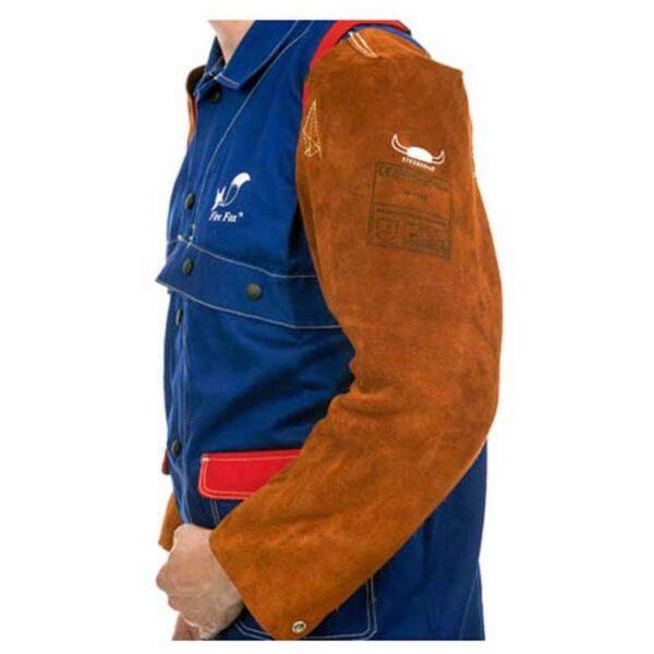 Maneci piele cu prindere elastica (pereche) 58cm - 44-7023