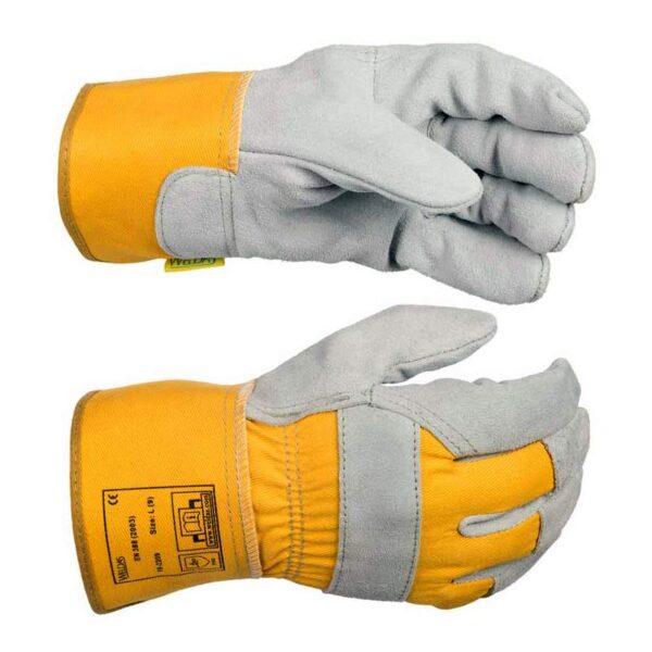 Manusi de lucru WELDAS cu palma captusita si manseta de protectie, 26 cm - 10-2209M