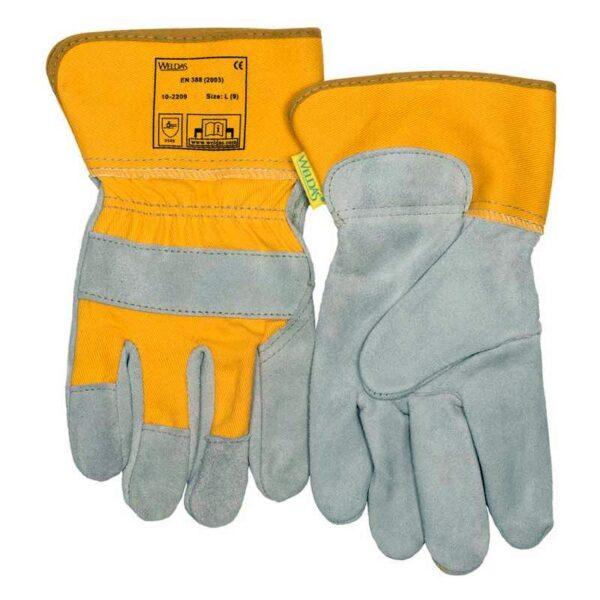 Manusi de lucru WELDAS cu palma captusita si manseta de protectie