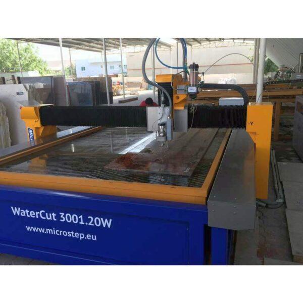 Masina debitare cu apa CNC MicroStep-WaterCut -