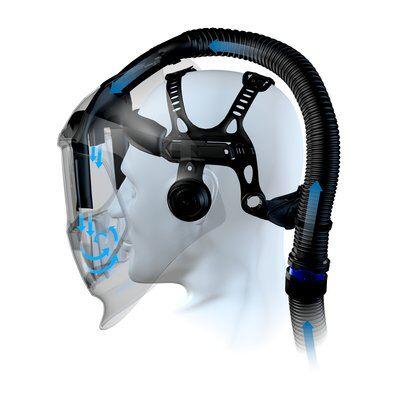 Masca de sudura 3M™ Speedglas™ 9100 Air cu ventilatie si filtru de sudura 9100XX - 567715