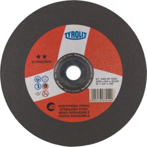 Disc de polizare dura inox standard Tyrolit -
