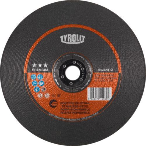 Disc de polizare dura inox SILENTIO premium Tyrolit -