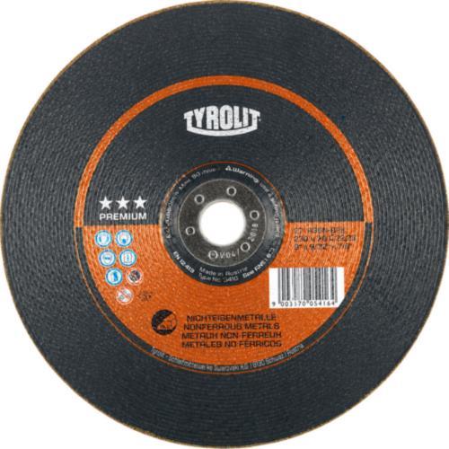 Disc de polizare dura metale neferoase premium Tyrolit -