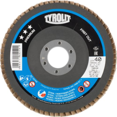 Disc lamelar otel/inox FASTCUT premium Tyrolit -