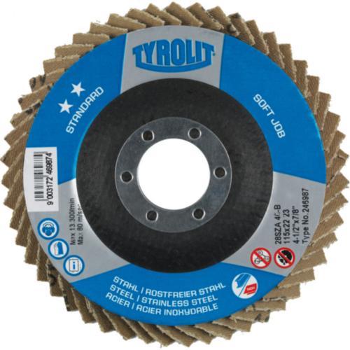 Disc lamelar oțel/inox 2in1 SOFTJOB standard Tyrolit -