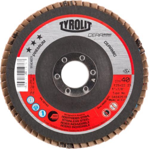 Disc lamelar inox CERABOND premium Tyrolit -