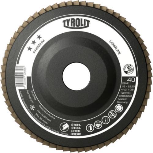 Disc lamelar oțel LONGLIFE premium Tyrolit -