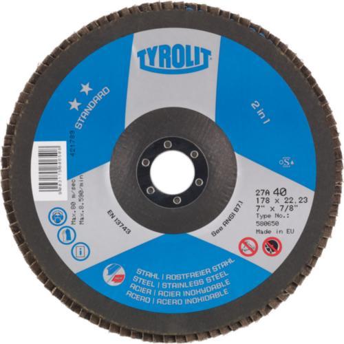 Disc lamelar otel/inox 2in1 standard Tyrolit -