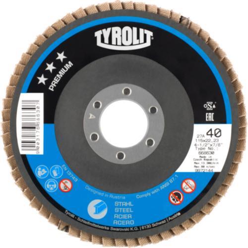 Disc lamelar oțel premium Tyrolit -