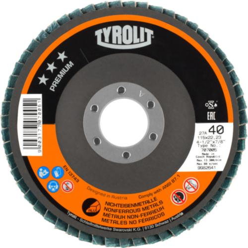 Disc lamelar neferoase premium Tyrolit -