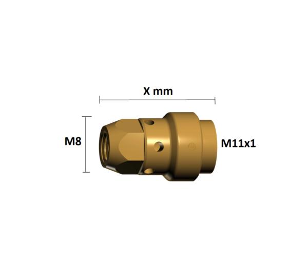 Portduza M11x1/M8 -