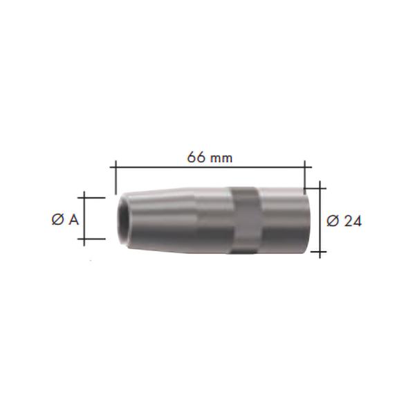 Duza gaz(24x66) ABIMIG W T 540 -