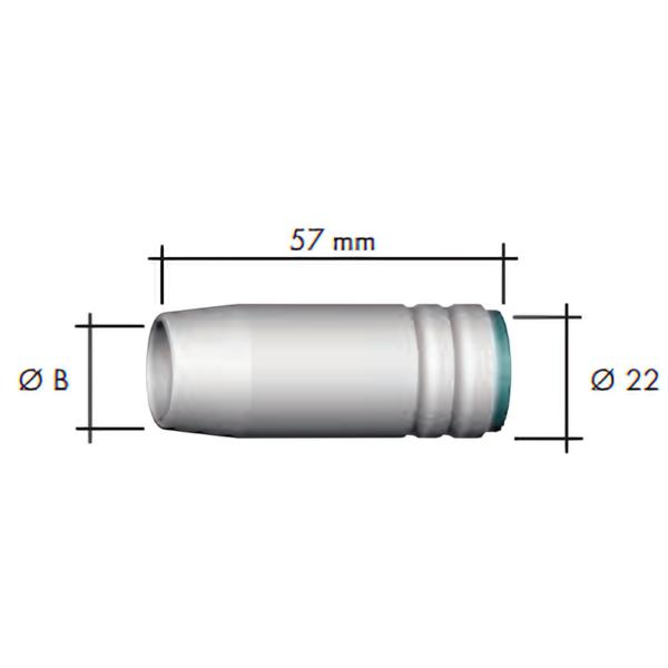 Duza gaz (22x57) -